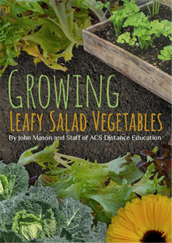 Growing Leafy Salad Vegetables- PDF ebook