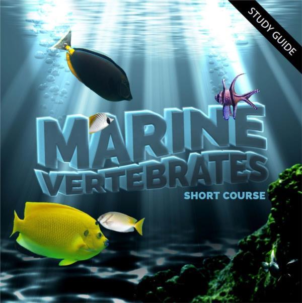 Marine Vertebrates - Short Course