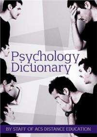 Psychology Dictionary - ebook