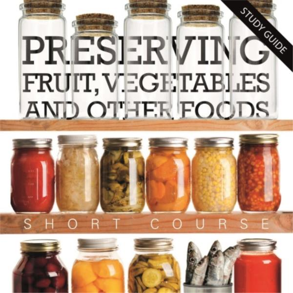 Short Course Food Preserving